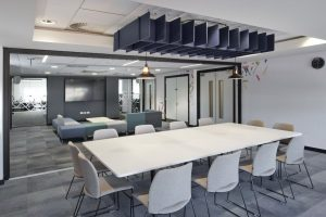 DAY - modern office scheme at Trafford General Hospital