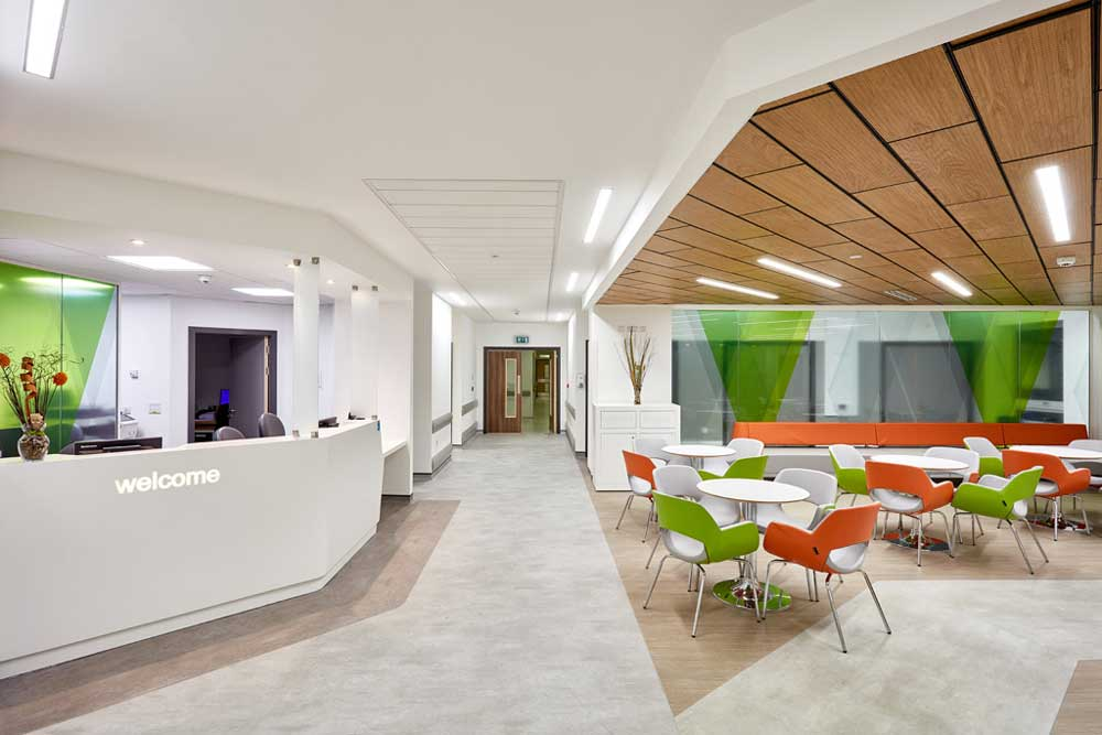 DAY - OPD Refurbishment, Liverpool Heart & Chest Hospital